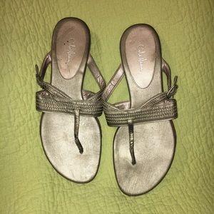 Cole Han + Nike Air Gold Sandals